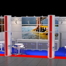 Messestand CAD 6